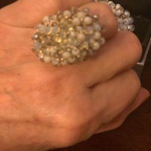 APART Ring and Bracelet Set.  NWTT.